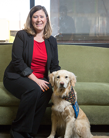 Tracy Szymanski credits comfort dogs with helping her, the Sunrise staff and many patients and families in the hours and days after the shooting.