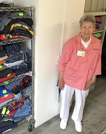 Frist Humanitarian Award Volunteer Recipient Doris Mae Carson