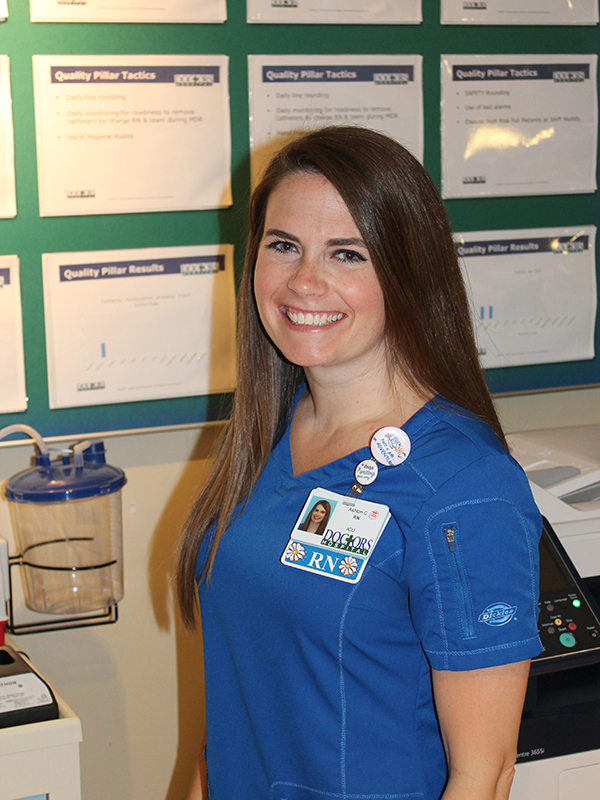 Ashton Crocker, RN., Doctors Hospital of Augusta, Augusta, Ga.