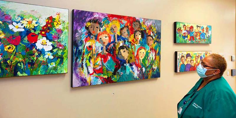 Local art donated to HCA Houston Healthcare